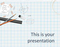 Amsterdam Free Education PowerPoint Template