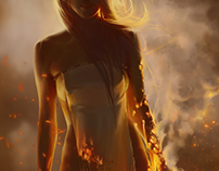 Woman of fire
