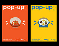 POP-UP North Avenue Market branding