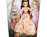 Disney Descendants Dolls/ Textile Design