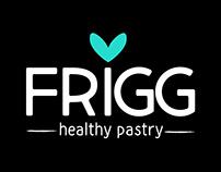 Branding completo apra FRIGG healthy pastry