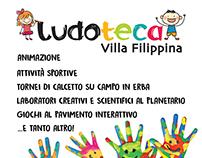 Locandina Tempo d'estate - Ludoteca Villa Filippina