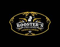 Rooster's Firearms logo