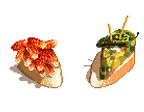 Beer & Los Montaditos / Pixel Art