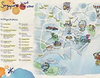 Desigual Maps: Singapore & Milan