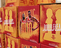 Houston Rockets Dynamic Duo Bobbleheads