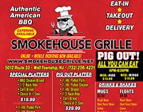SmokeHouseGrille Flyer Design