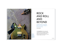 Rock and Roll and Beyond – magazine feature design