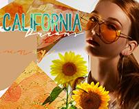 California Dreams Ink Textures