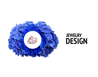 Jewelry site design, landing, fashion site design