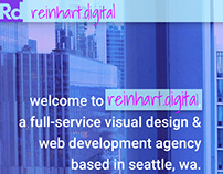 reinhart.digital site design