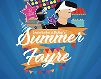 Summer Fayre Promo Poster