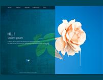 header web design