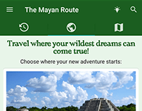 The Mayan Route v1.5 - Android, 2017