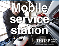 THORP PLUMSTEAD SERVICE PRESS AD