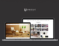 Unique | Furniture Website design