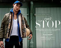 can't´ STOP Editorial for 7Huesmag Hommes