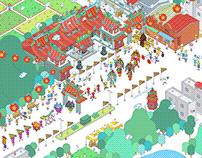 DaxiDaxi ✦ Guan Yu Online! ✦ Online Pilgrimage Campaign