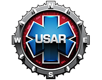 USAR RESQ - car sticker design