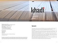Khadi : The Freedom Fibre