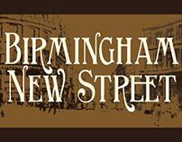 Birmingham New Street - Edwardian Elegance