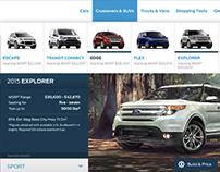 Ford Website/Navigation Refresh