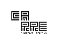 Carre - Typeface