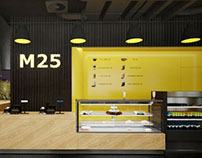 M25. Concept design. Coffee point