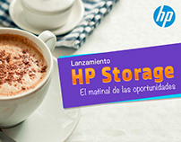 HP / INTEL - LANZAMIENTO HP STORAGE