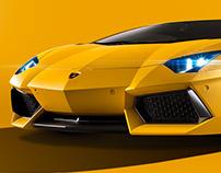 Lamborghini seen with Trichromatic