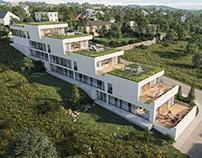 Terrace house in Myslava