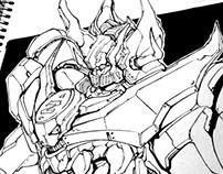 Robo Sketch Time