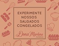 Tabela de preços e sabores - Confeitaria Dona Marlene