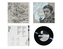 Serge Gainsbourg – Lyrics | packaging design