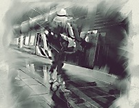 Perth Underground - Last Train