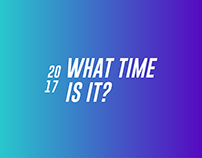 What time is it ? - Animation Film