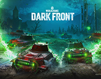Dark Front. World of Tanks Halloween event