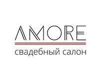 Логотип для свадебного салона AMORE