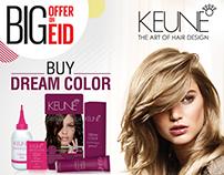 Keune Big Offer Campaign