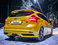 Ford Focus ST, winter time