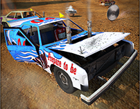 "Environment/Asset/UI Game ""Demolition Derby Car Racing"""