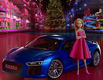 La muñeca que eligió conducir // Audi - Integral