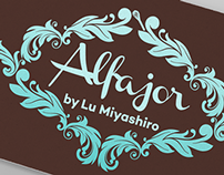Facebook and Business Card - Alfajor by Lu Miyashiro