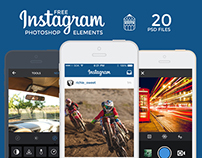 Instagram UI Elements – FREE