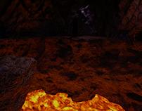 Cueva con lava