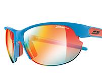 Julbo Eyewear Booklet 3D Rendering