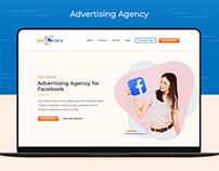 Creative Website UI Design - Advertising Agency