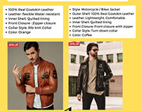 THE MOST POPULAR STYLES OF LEATHER JACKET