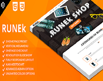 Runek - Multipurpose and Responsive Magento Theme