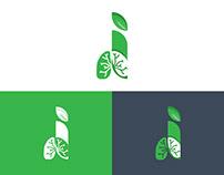 Lungs Care Logo Design Template